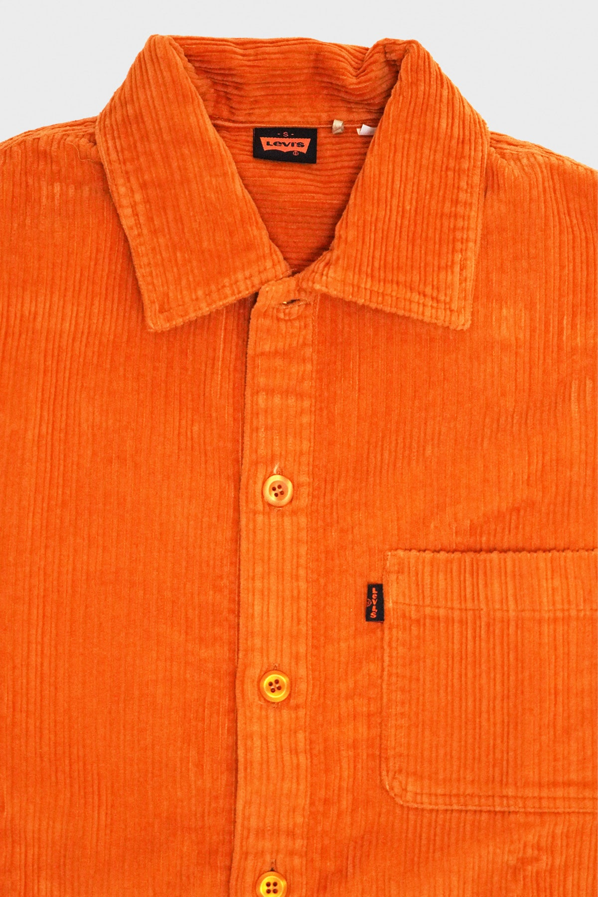 Levi's Vintage Clothing - Cord Shirt - Golden Oak - Canoe Club