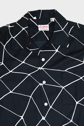 levi's vintage clothing Web Shirt - Black And White