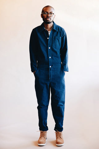 you must create (ymc) String Jumpsuit - Navy