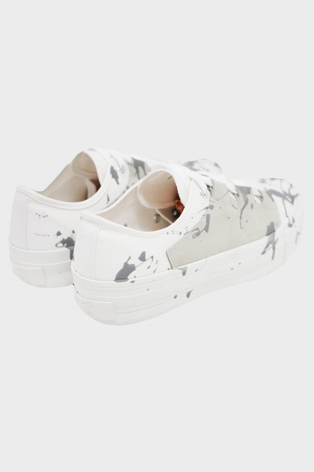 Needles - Asymmetric Ghillie Sneaker - White - Canoe Club
