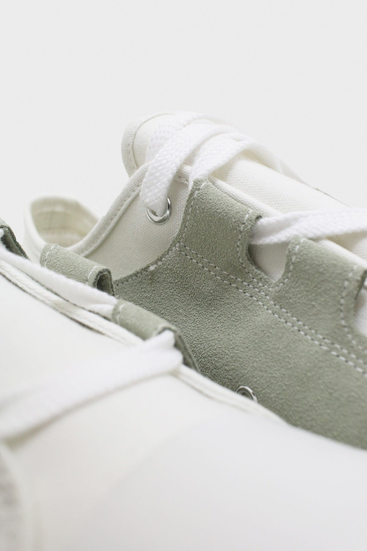 Needles - Asymmetric Ghillie Sneaker - White II - Canoe Club