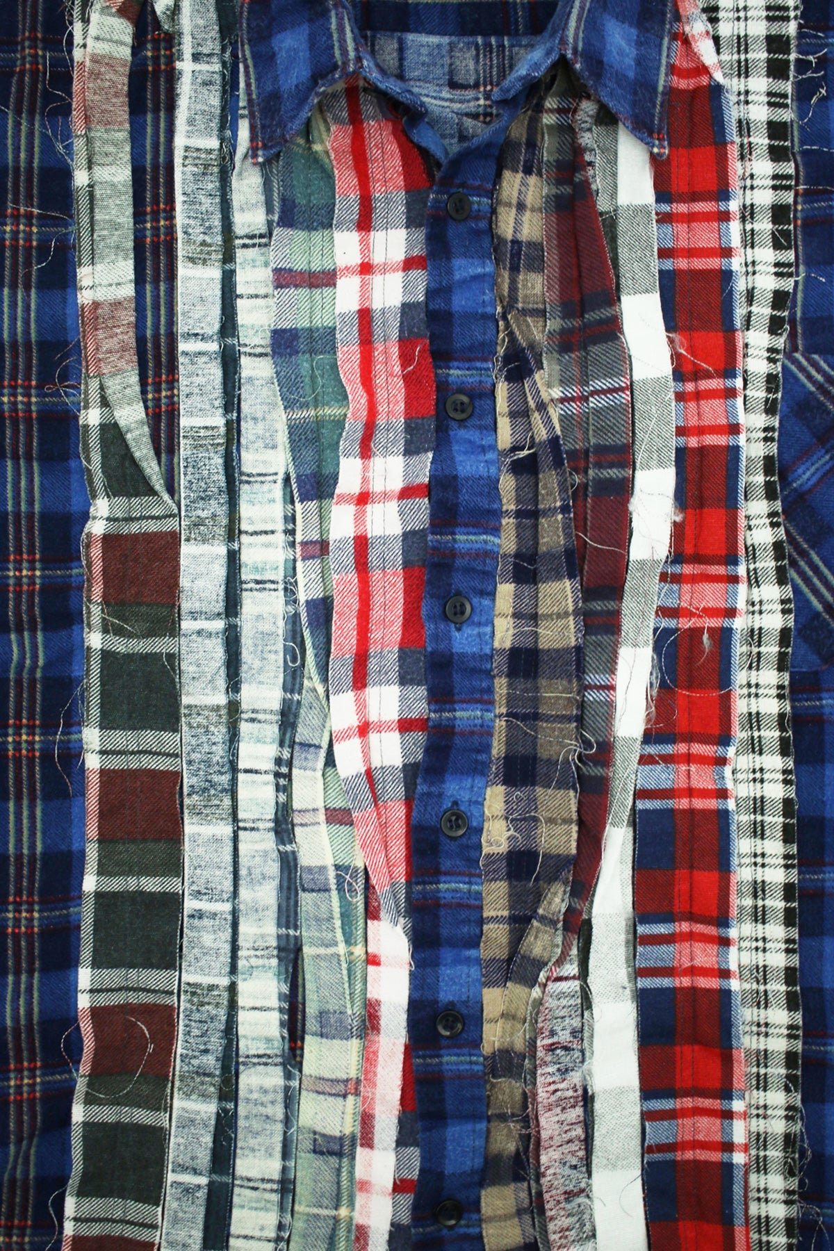 Needles - Ribbon Flannel Shirt - Assorted #12 - Large - Canoe Club