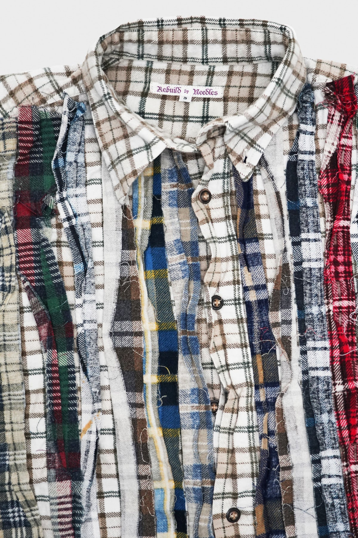 Needles - Ribbon Flannel Shirt - Assorted #1 - Medium - Canoe Club
