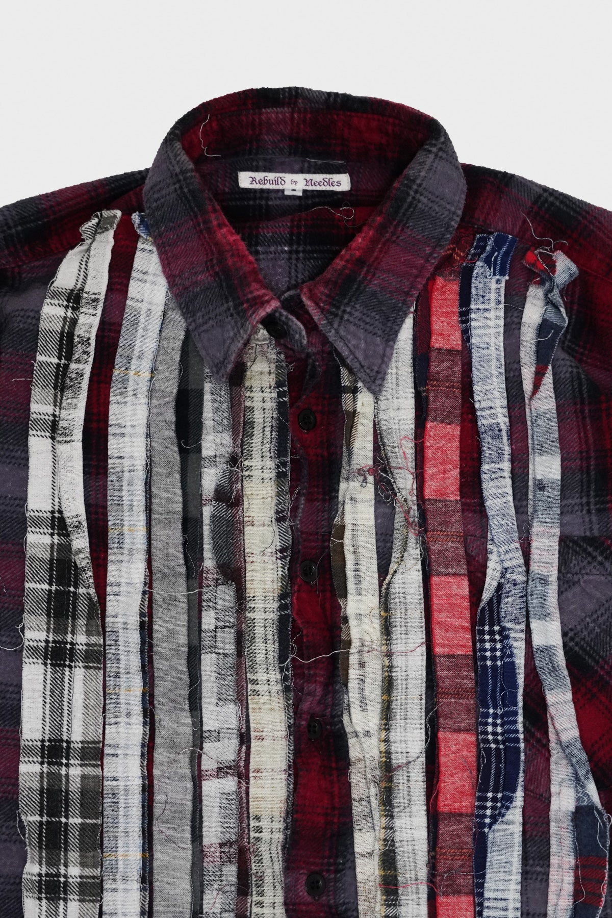 Needles - Ribbon Flannel Shirt - Assorted #4 - Small - Canoe Club
