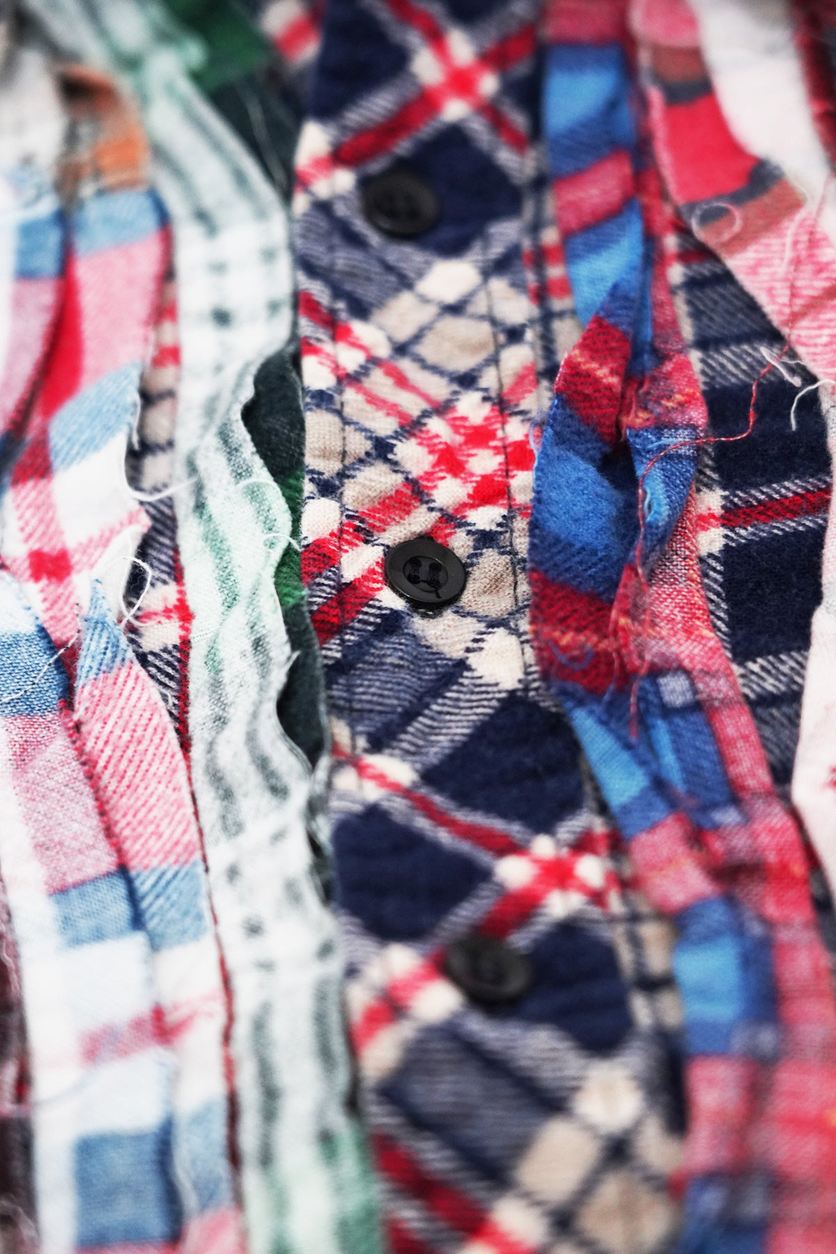 Needles - Ribbon Flannel Shirt - Assorted #7 - Medium - Canoe Club