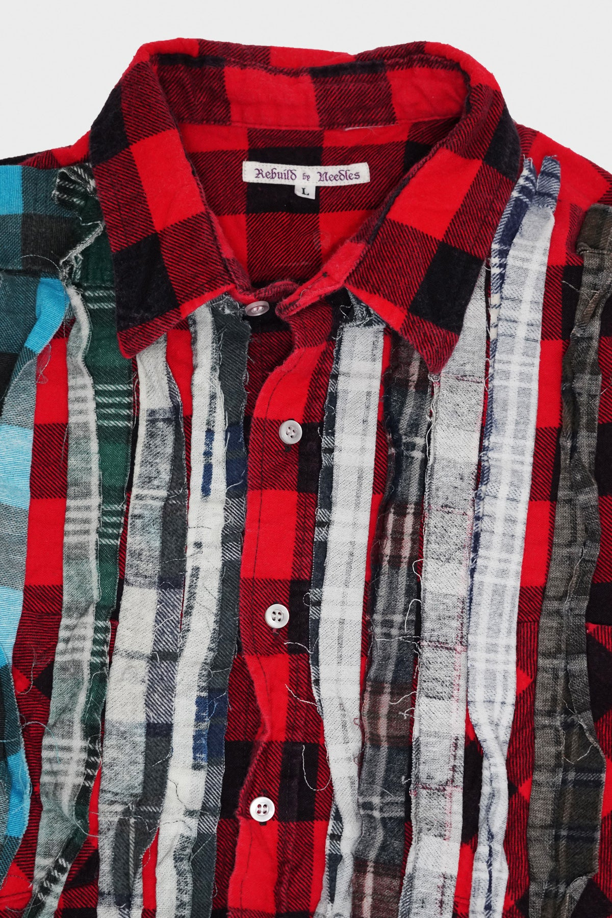 Needles - Ribbon Flannel Shirt - Assorted #8 - Large - Canoe Club