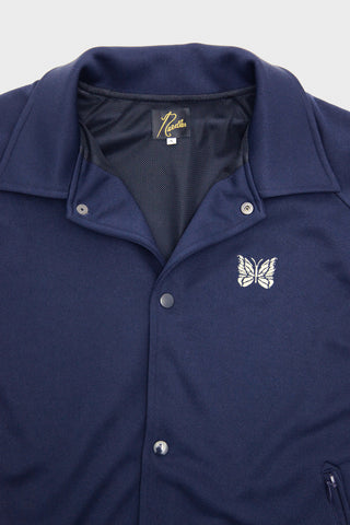 Side Line Coach Jacket - Navy