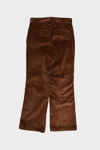 String Cuff Trouser - Brown