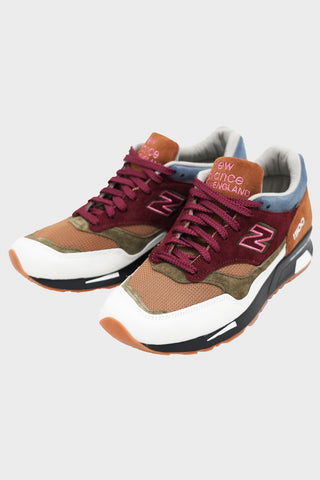new balance 1500 shoes - Burgundy/White