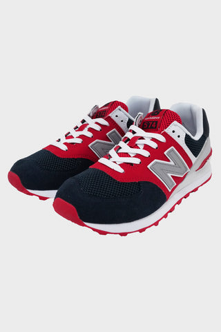 new balance 574 Essentials shoes - Navy/Red/White