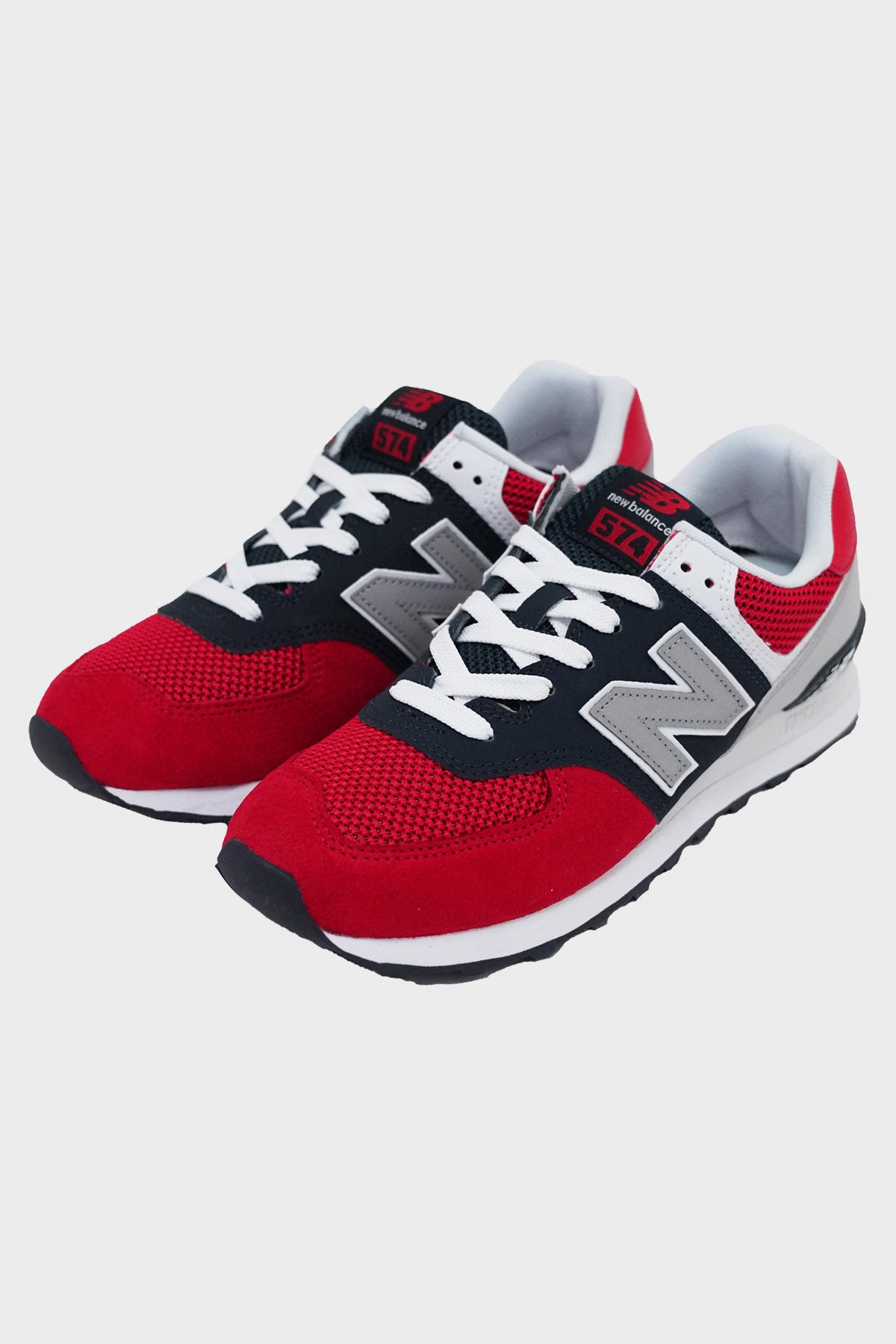 New Balance - 574 Essentials - Red/White/Navy - Canoe Club