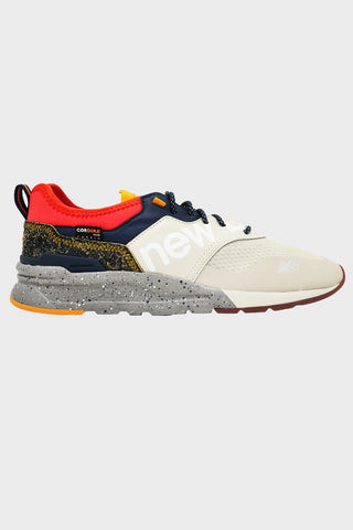 new balance 997H shoes - Oyster/Team Orange