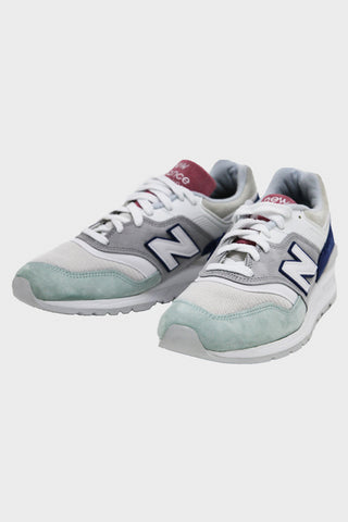 new balance M997 shoes - Grey/Green