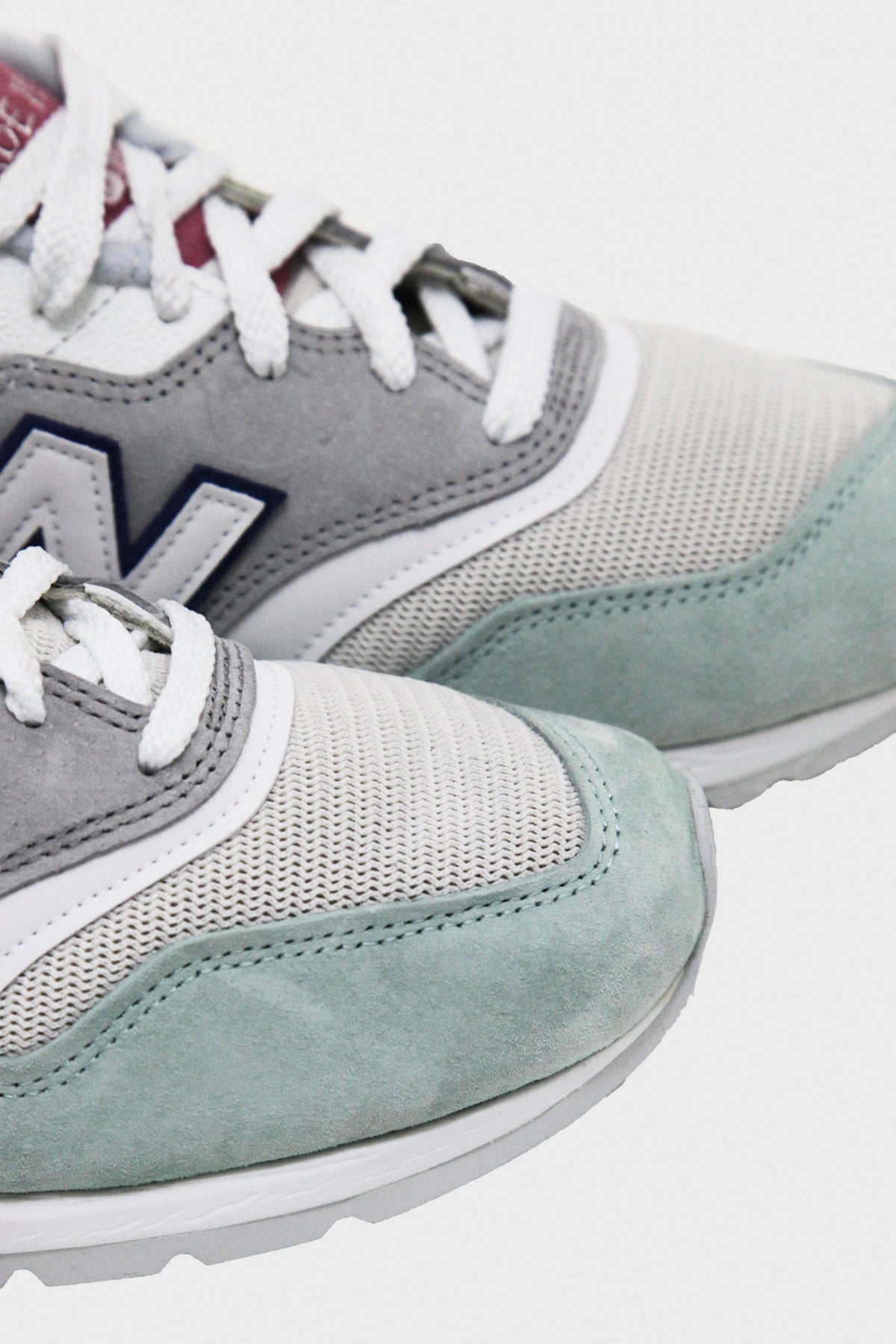 New Balance - M997 - Grey/Green - Canoe Club