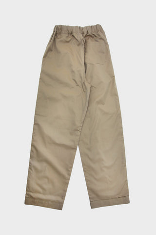 Old Hands clothing japan C&L Easy Pant - Beige Supima