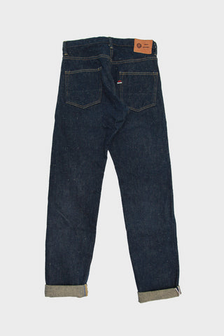 Oni X Tanuki denim japan High Rise Taper Denim