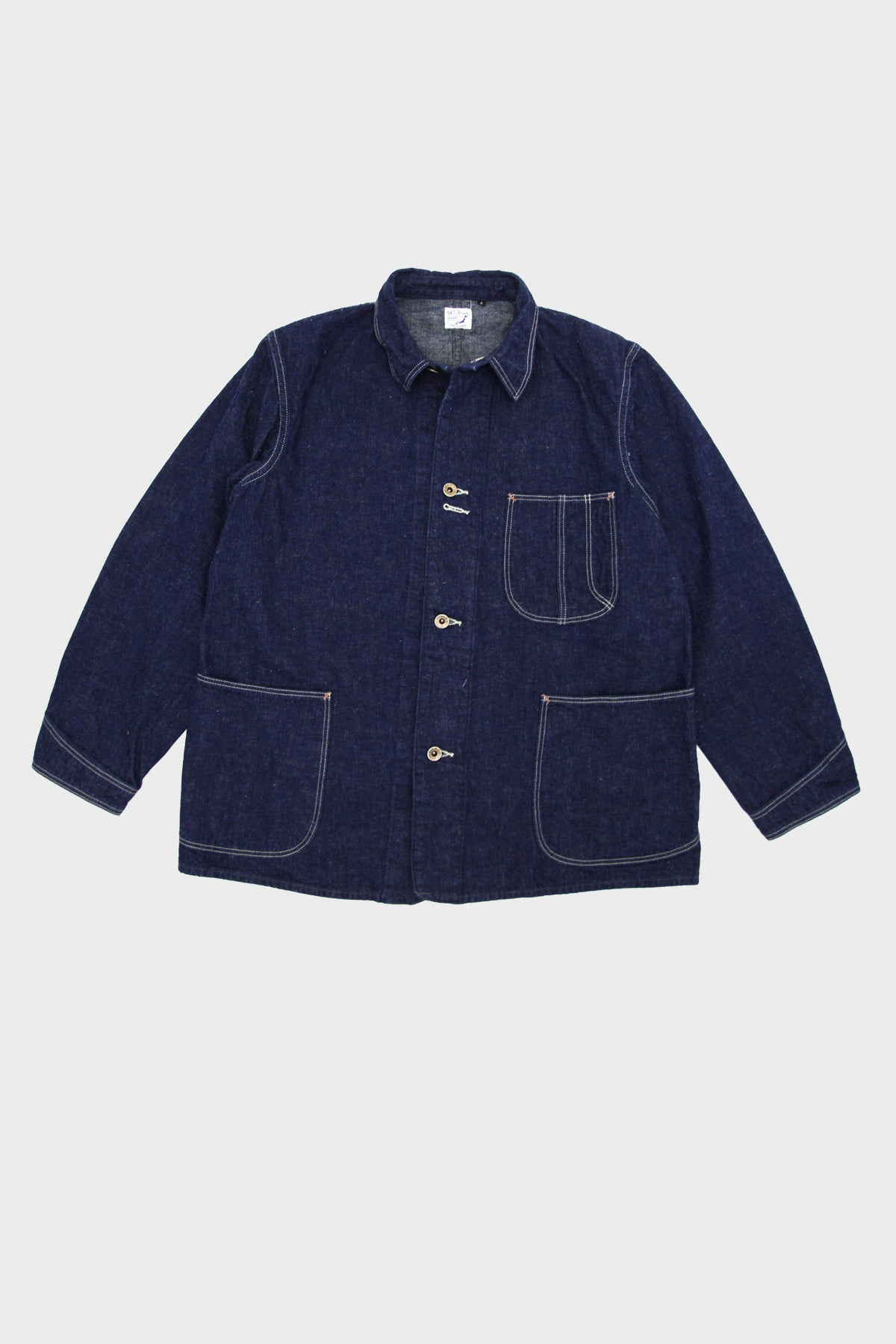 orSlow - 40's Coverall - One Wash Original Denim - Canoe Club