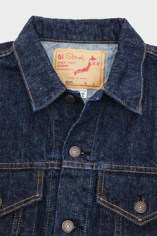 orslow 60's denim jacket in one wash