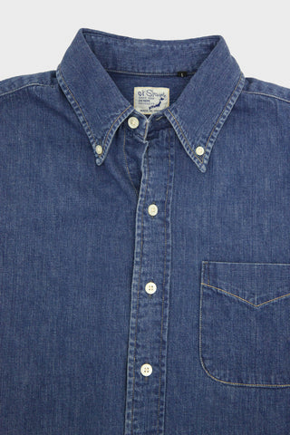 orslow Button Down Shirt - Denim Used
