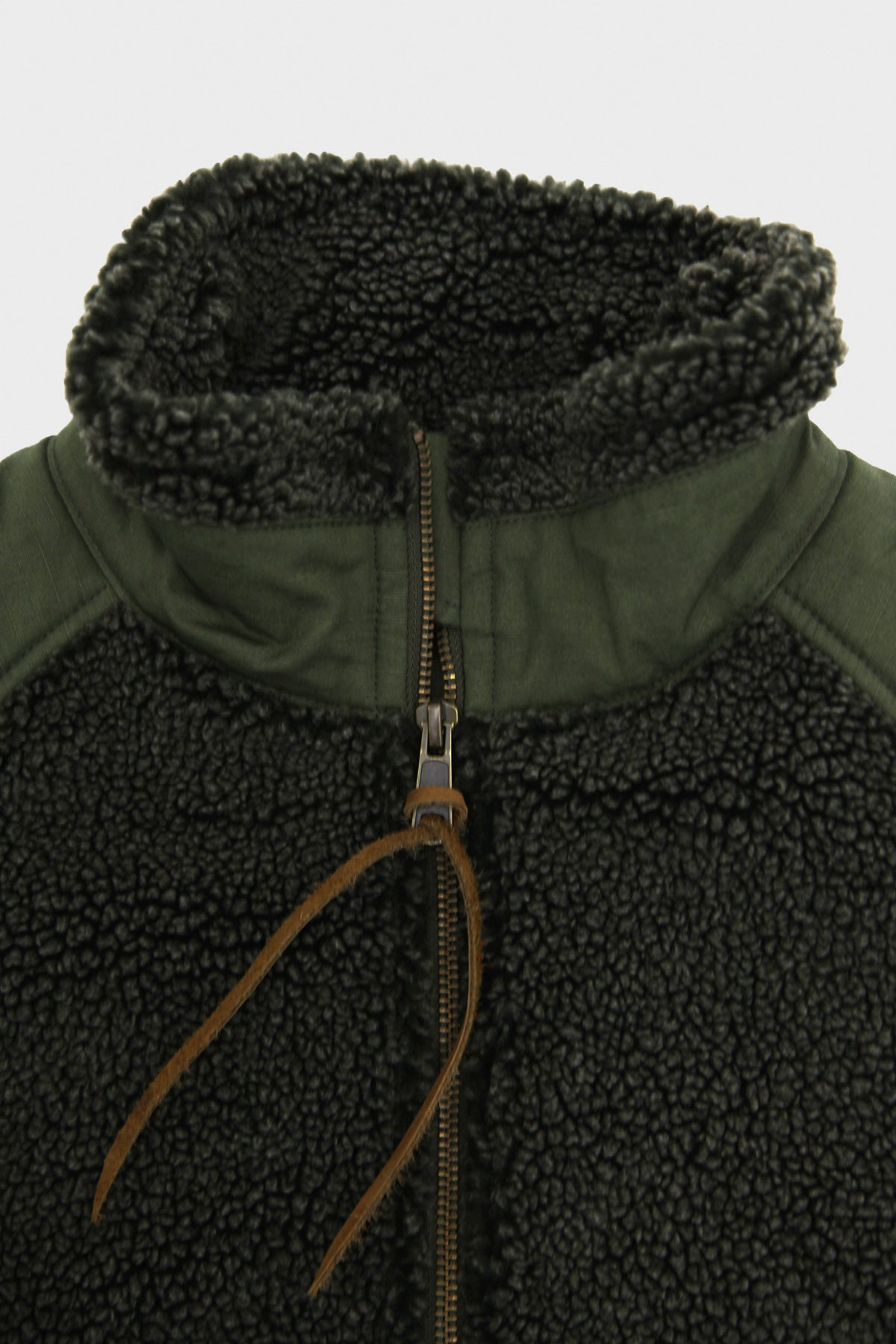 orSlow - Fleece Jacket - Army - Canoe Club