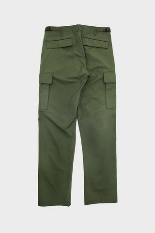 orslow slim fit six pocket cargo pants in army
