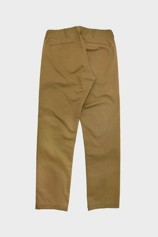 orslow slim fit army trousers in khaki