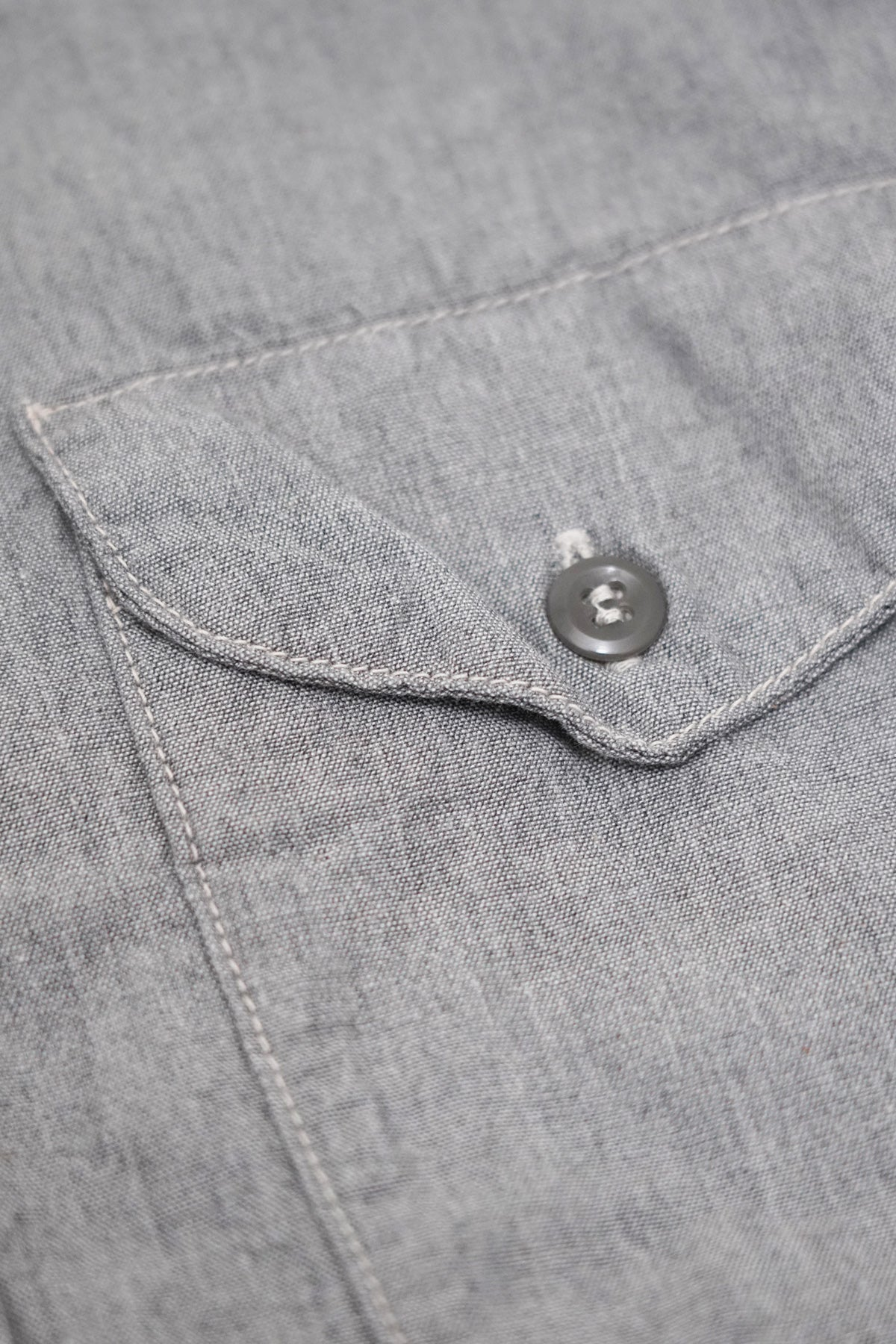 orSlow - Utility Work Shirt - Grey - Canoe Club