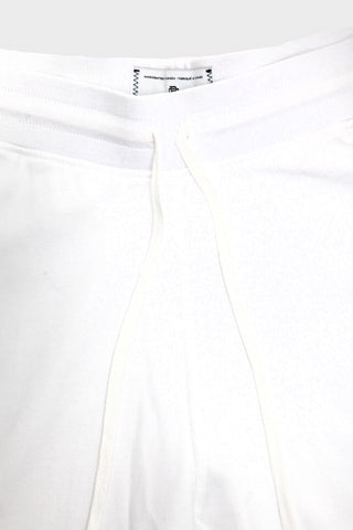 reigning champ Cut-Off Sweatshort - White