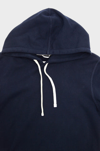 Mid Weight Terry Pullover Hoodie - Navy