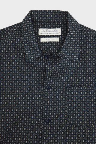 Remi Relief Bandana Checked Print Shirt - Navy