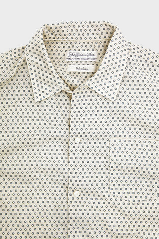 Remi Relief Bandana Dots Printed Shirt - Off White