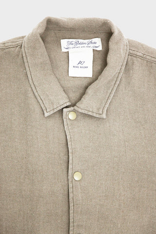 Remi Relief European Linen Coach Jacket - Beige