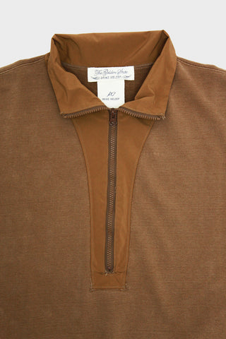 Remi Relief Special Finish Fleece Outdoor Pullover Zip - Mocha
