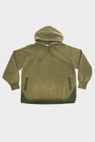 Remi Relief Special Finish Fleece Outdoor Sweatshirt - Khaki