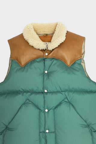 rocky mountain featherbed Christy Vest - emerald