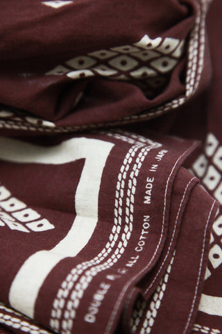 Bandana Scarf - Faded Burgundy