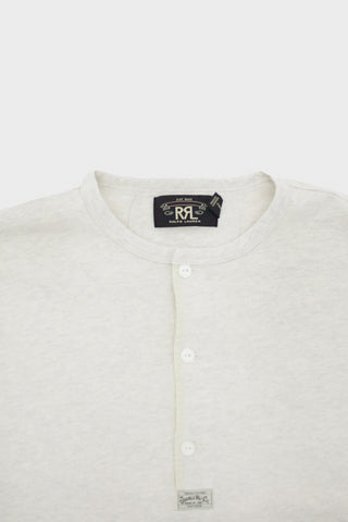 rrl Cotton Slub Jersey Knit - Natural