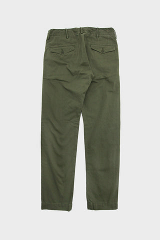 Double R L Officer's Chino in Olive