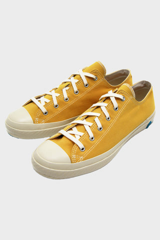 Shoes like pottery Cloth Natural Dye Lo-Top Sneaker - Mustard