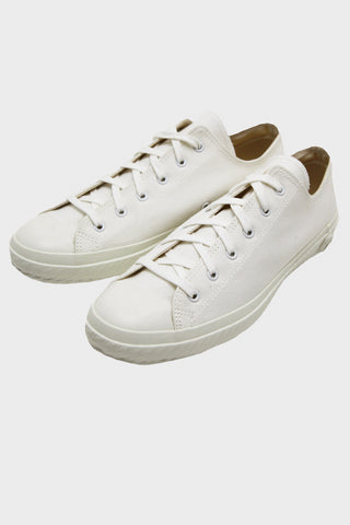 shoes like pottery Cloth Natural Dye Lo-Top Sneaker - White