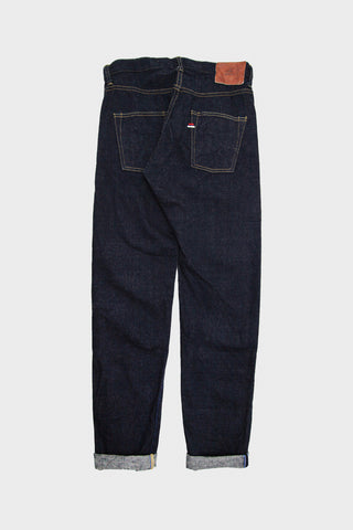 tanuki denim japan KHT Kaze High Rise Taper - 12.5oz Indigo