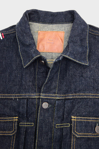 tanuki denim japan NJKT2 Type II Denim Jacket - 16.5oz Natural Indigo
