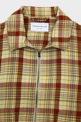 tomorrowland clothing japan Zip Blouson - Liquid Tartan