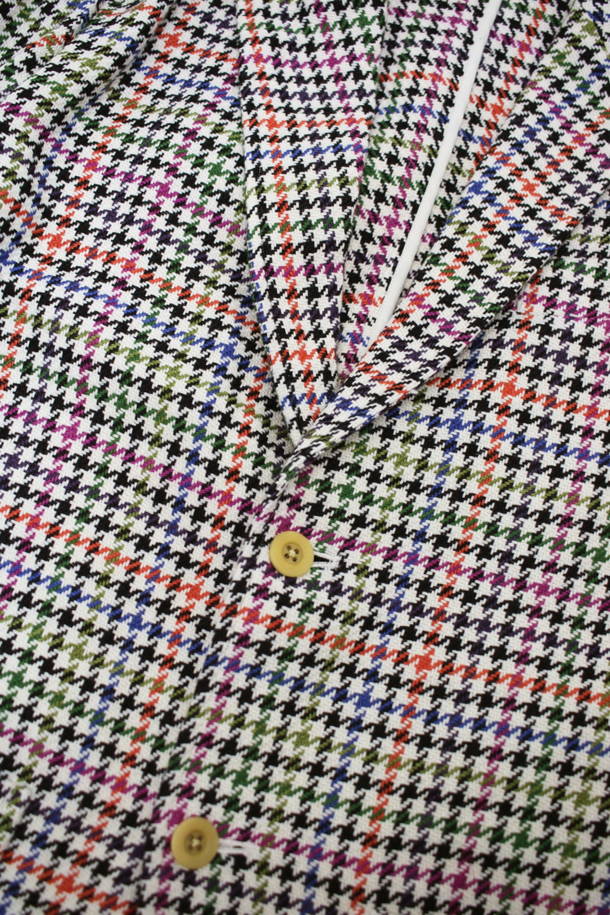 ts(s) - 2 Button Peaked Lapel Jacket - Multi-Color - Canoe Club