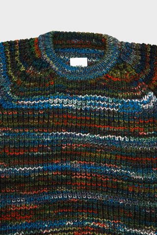 t.s.s. Crew Neck Knit Sweater - Multi