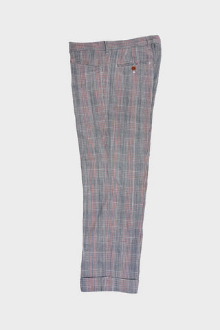 tss Glen Plaid L-Pocket Plaid - Blue