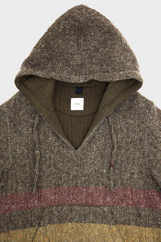 ts(s) Pullover Long Parka - Brown