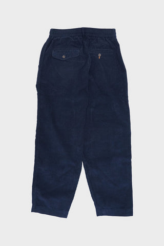 universal works Pleated Track Pant - Navy