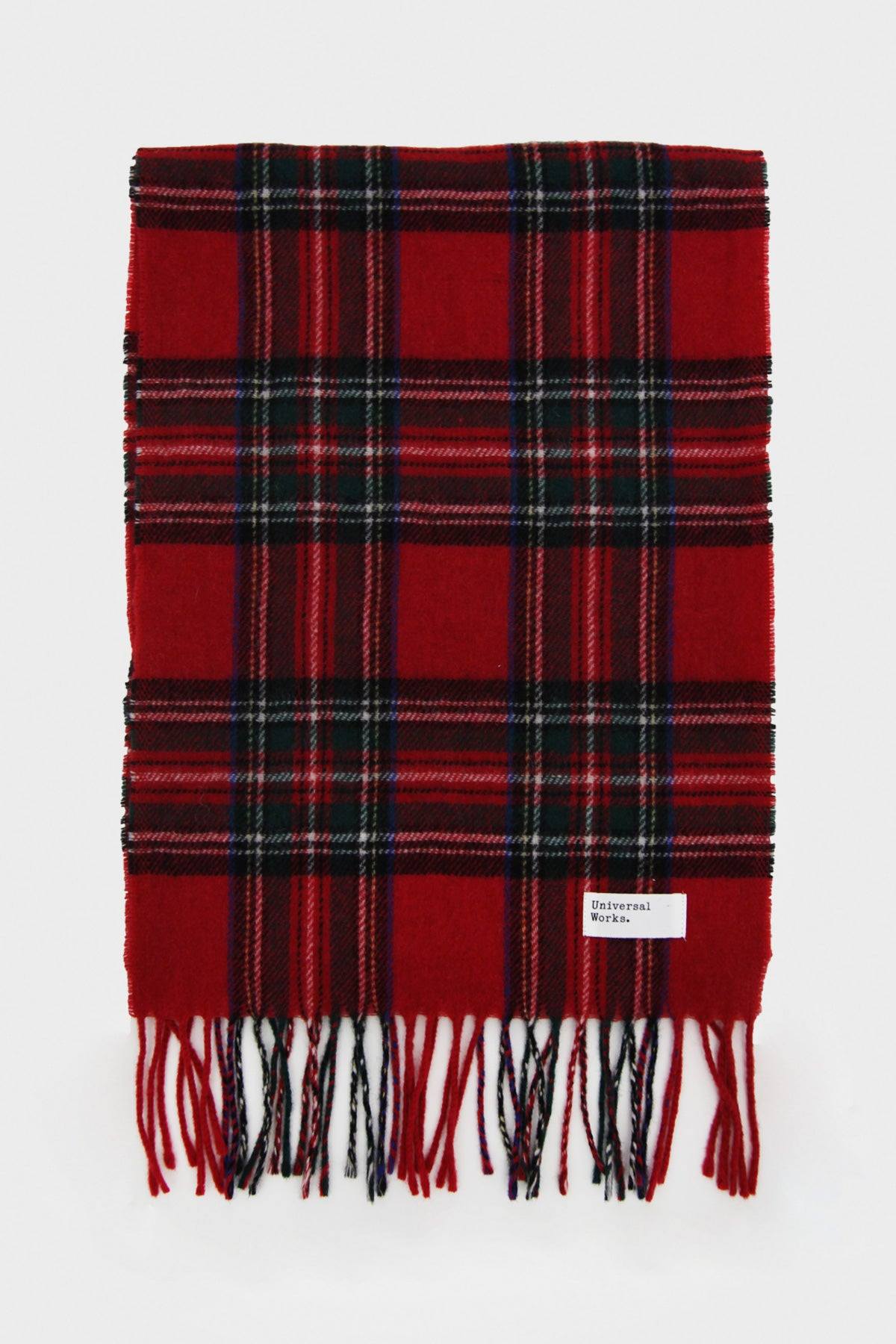 Universal Works - Scarf - Red - Canoe Club