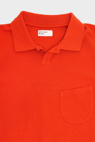 universal works Vacation Polo - Orange